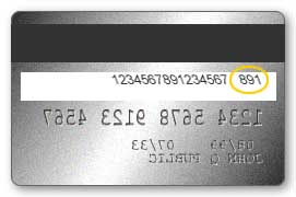 how to find the cvv number in debit card